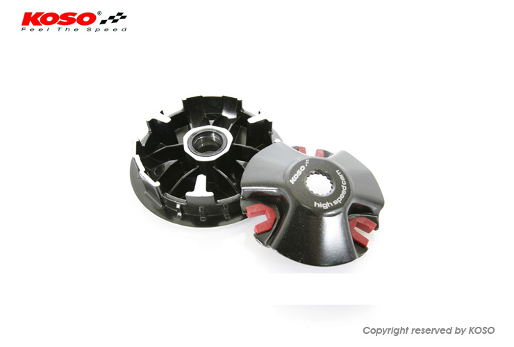 KOSO-PERFORMANCE DRIVE PULLEY SET